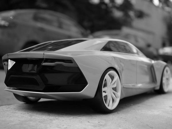 Audi R9 ou comment recycler le concept Lamborghini Estoque