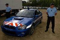 La gendarmerie sera équipée de Subaru Impreza WRX