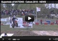 Supermotard: retour en 2010 à Cahors pour les Nations (vidéo)
