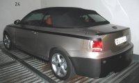 Future BMW Série 1 Cabriolet : photos rapprochées
