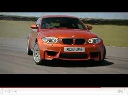 [vidéo] la BMW 1M fait sa pub ... en Angleterre bien sûr