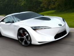 Détroit 2014 - Toyota avec un concept Supra