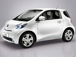 La Voiture Verte de l'année 2010 au Royaume-Uni ? La Toyota iQ