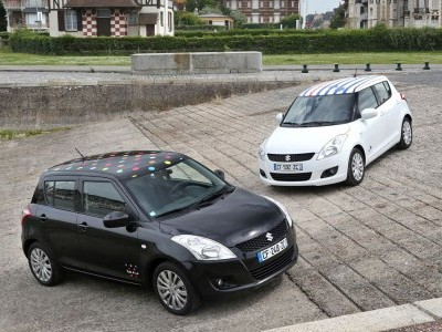 Suzuki dévoile la Swift Little Marcel