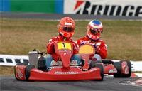 Un Kart  aux couleurs de M. Schumacher vendu aux enchères