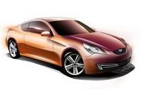Future Hyundai Coupé/Tiburon : le sketch réaliste ?