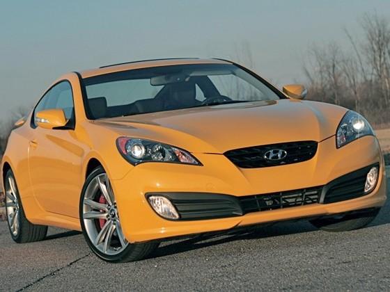 Hyundai Genesis Coupé : un V8 de 429 chevaux pour chercher la Ford Mustang ?