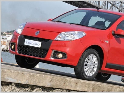 Dacia Sandero restylée: 1ères photos!