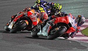 MotoGP - Qatar J.3: Dovizioso est le vrai cauchemar de Márquez