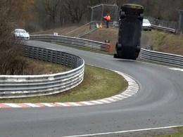 Un ancien lauréat de la GT Academy au centre d'un grave accident sur le Nurburgring