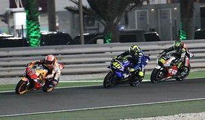 MotoGP - Qatar J.3 Márquez: «je me devais de tenter quelque chose»
