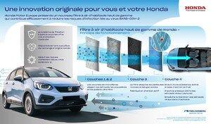 """Honda et son filtre d'habitacle """"premium"""" anti-infection"""