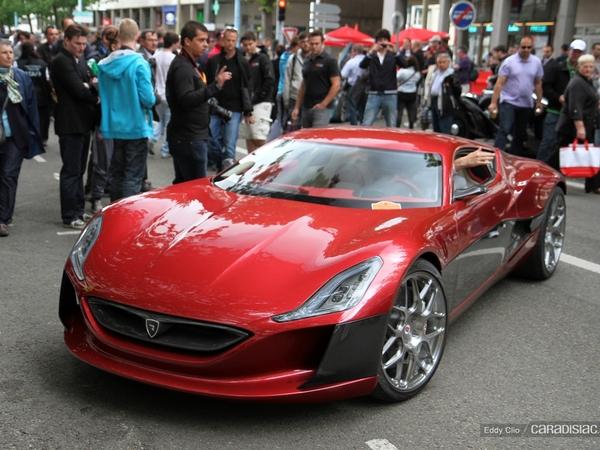 Photos du jour : Rimac Concept One (Parade des Pilotes du Mans)
