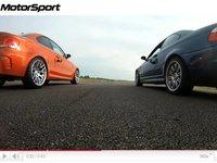 [vidéo] BMW 1M vs BMW M3 E46 par Motorsport
