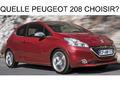 Quelle Peugeot 208 choisir ?
