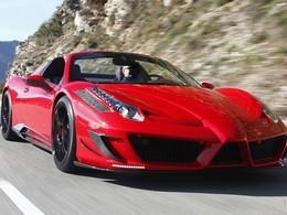 Ferrari 458 Italia Spider Monaco Edition Mansory . Pour le meilleur et pour le pire