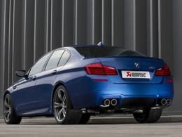 Akrapovic donne de la voix à la BMW M5 F10 (vidéo)