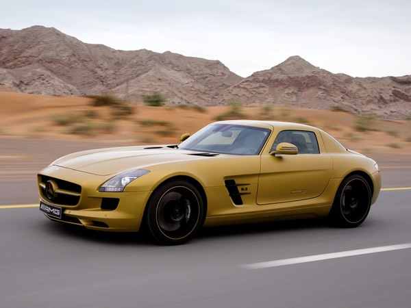 Mercedes SLS AMG : bientôt avec un Diesel ?