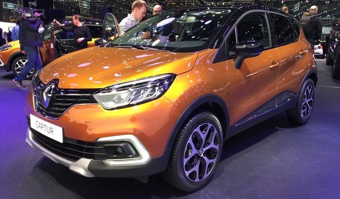 Genève 2017 - Le Renault Captur restylé se dévoile en live