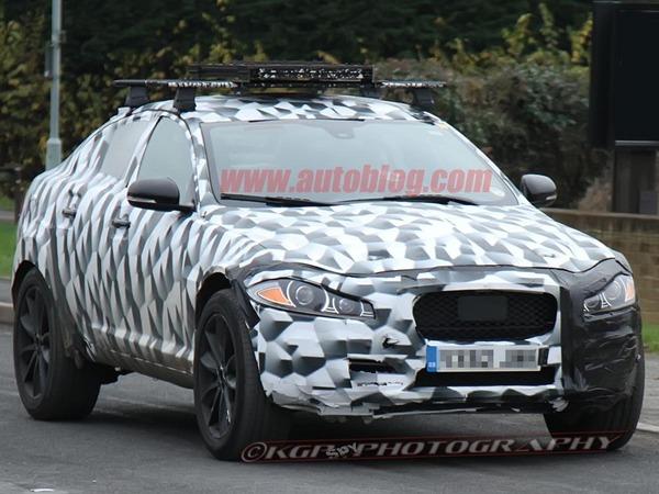 Surprise : le SUV Jaguar de sortie. Mais est-ce bien lui ?