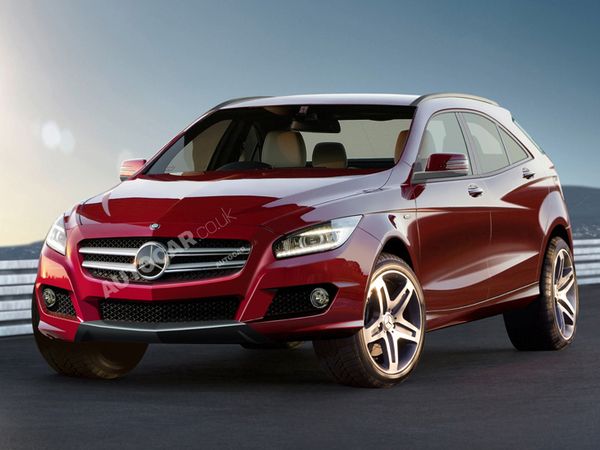 Futur Mercedes Classe A SUV: comme ça?