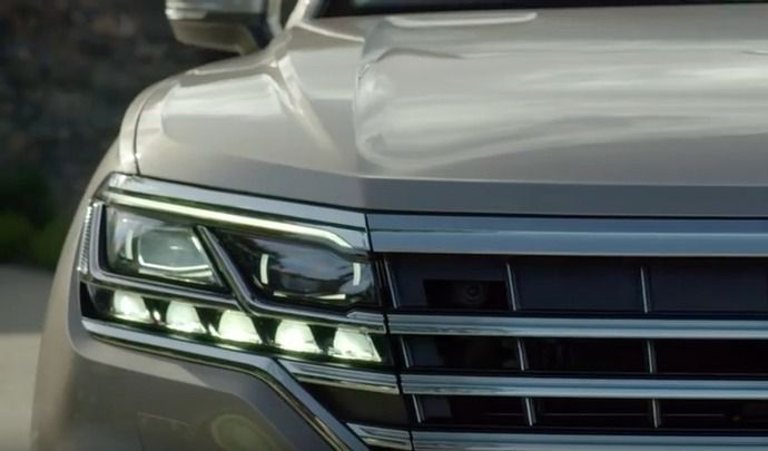 Volkswagen montre des bouts du nouveau Touareg