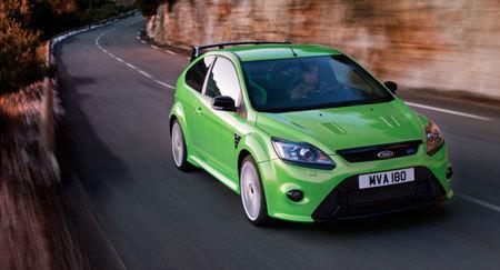 Ford Focus RS : première sortie de chaîne