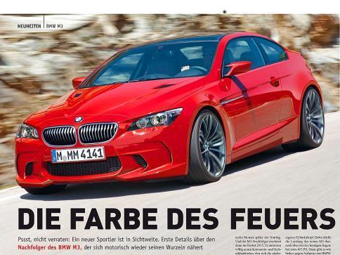 Prochaine BMW M3: comme ça?