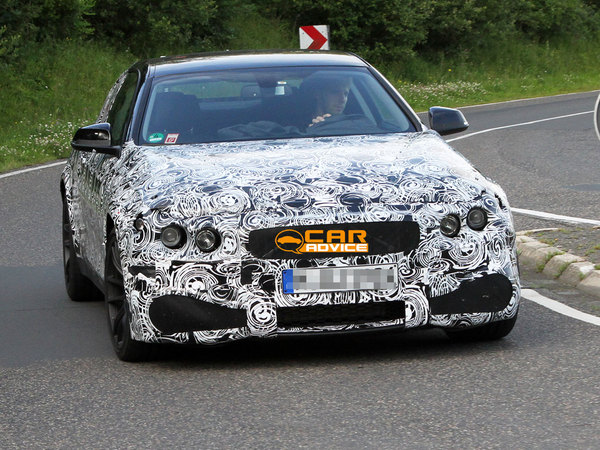 Surprise : la future BMW M4 en vadrouille