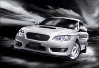 Subaru Legacy 'tuned by STi' 2008