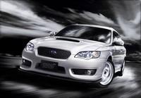 Subaru Legacy 'tuned by STi' 2008