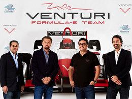 Venturi et DiCaprio en Formule E
