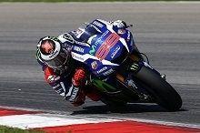 Moto GP - Tests Malaisie: pour Lorenzo les chronos ont été assez faciles à faire