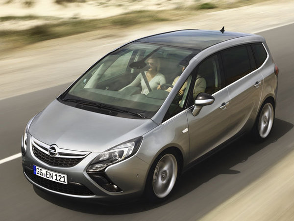 Nouvel Opel Zafira Tourer: 1ère photos
