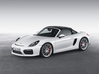 Salon de New York : voici le Porsche Boxster Spyder