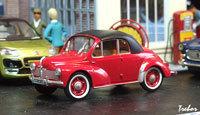 Miniature : 1/43ème - RENAULT 4cv cabriolet Labourdette