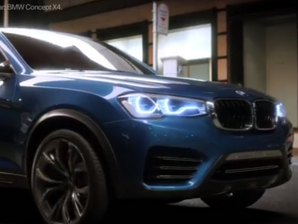 BMW : un teasing pour le X4