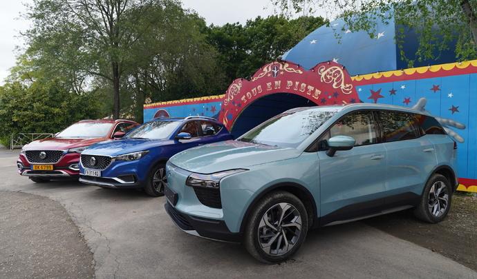Chinoises électrifiées: ça n'est que le début – Salon Caradisiac Électrique/Hybride 2021