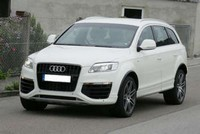 Future Audi Q7 V12 TDi : elle roule !