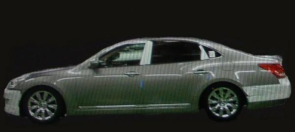 Hyundai Equus : c'est elle