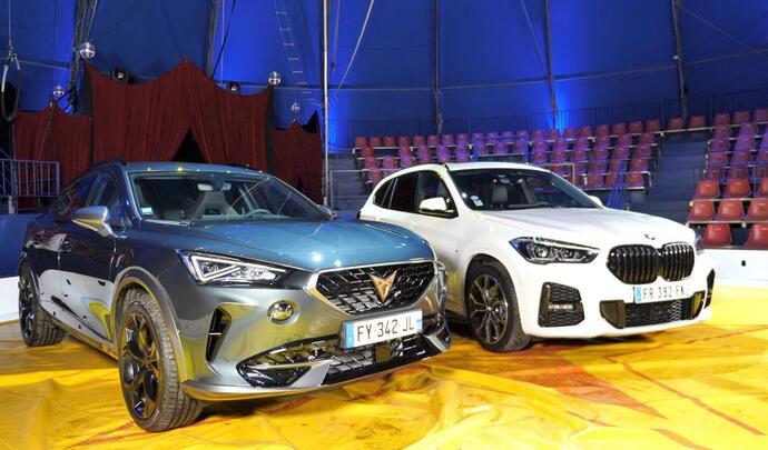 Cupra Formentor vs BMW X1: electro-magnétiques - Salon Caradisiac Electrique/hybride 2021