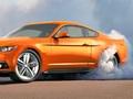 La Ford Mustang est-elle équipée d'un système de burn-out automatisé ?