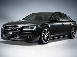 Audi AS8 par Abt : sombre limousine