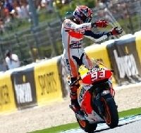 Moto GP: Marc Marquez aimerait gagner avec un peu plus d'adversité