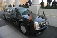 Le 20/01/09: Barack Obama, la Cadillac One, un défilé... [et 3 vidéos]