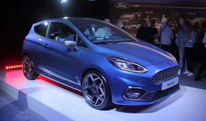 Ford Fiesta ST : sportive écolo - Vidéo en direct du salon de Genève 2017
