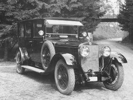 Škoda–Hispano Suiza 25/100 PS, la première berline dotée du logo Škoda