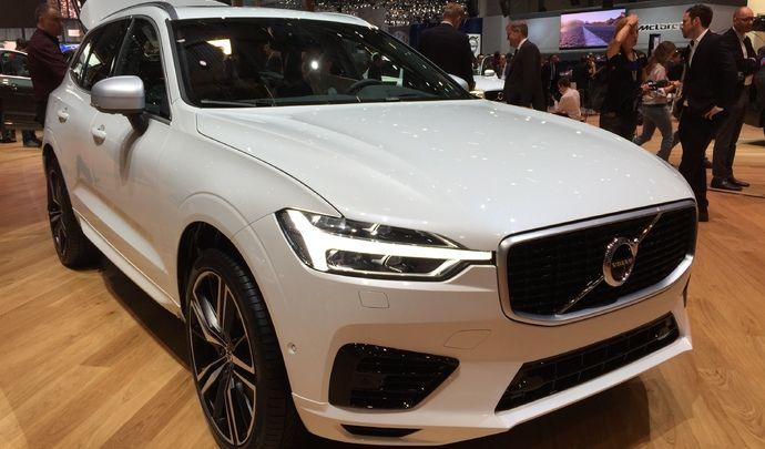 Volvo XC60: tout pour plaire - Vidéo en direct du salon de Genève 2017