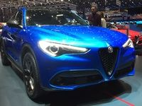 Alfa Romeo Stelvio : la 4 saisons - Vidéo en direct du salon de Genève 2017