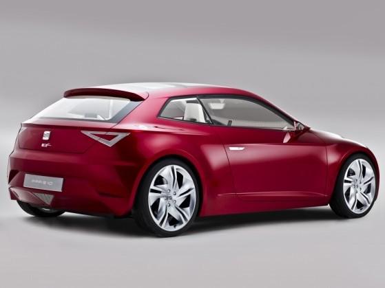 Future  Seat Leon 3 portes: un profil de coupé